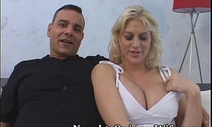 Super Blonde Banged By Buddy