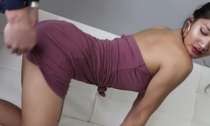 Teen Asian Girl Loves Some Patriarch Cock For Money