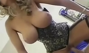 Hot Blonde MILF with Chubby Unartificial Interior