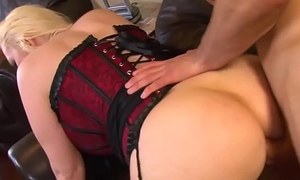 Bigtitted mother in law in lingerie assfucked