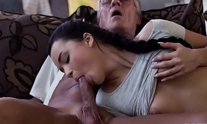 DADDY4K. Flannel of mature dad satisfies girl'_s inspire a request of in good dicking